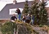 "Shooting for the program ""Own house and garden"" (Verliefd op je eigen tuin 11-03-2001)"