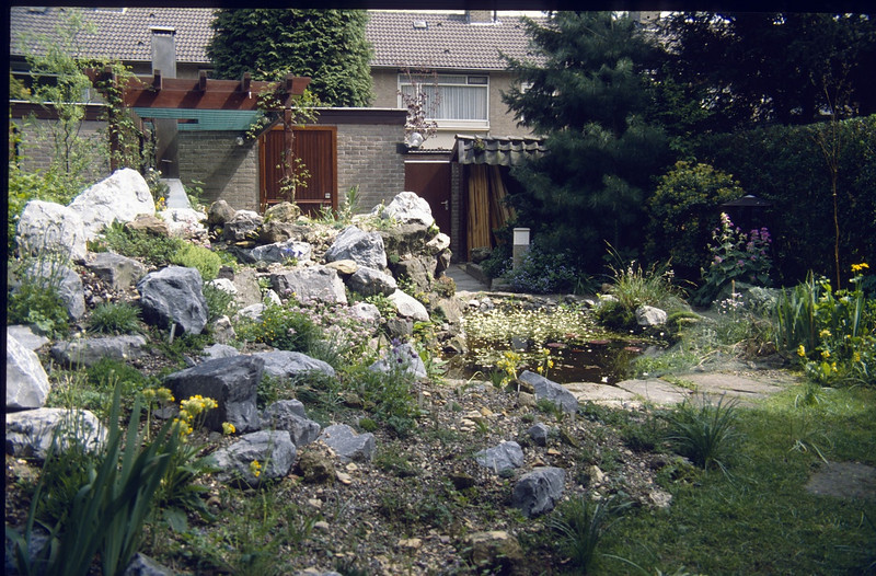 My first created rockgarden (1985 - 1989)