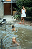 Saskia, Lana and Jeroen (swimmingpool)