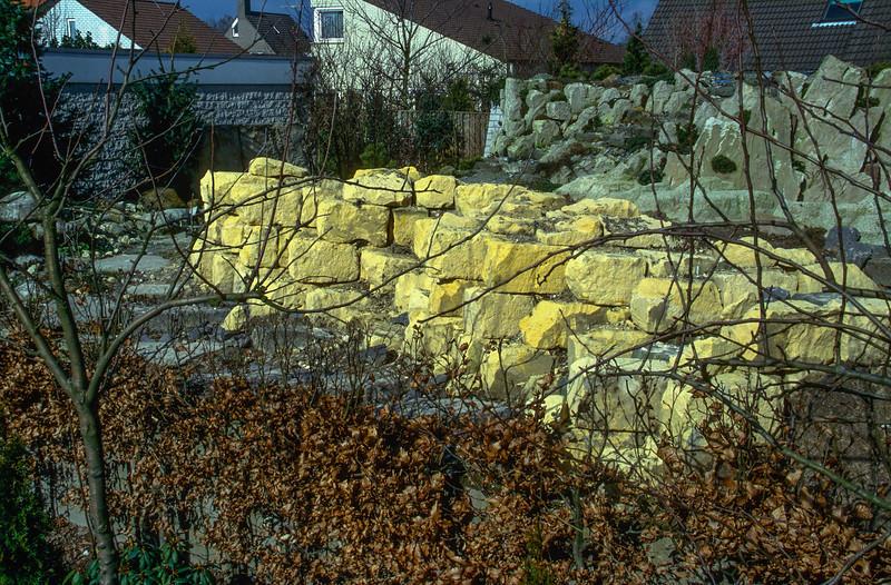 Rock-garden, 1995