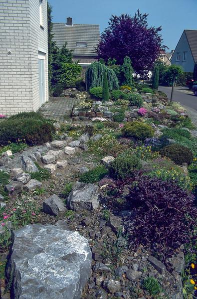 Front garden, 1997