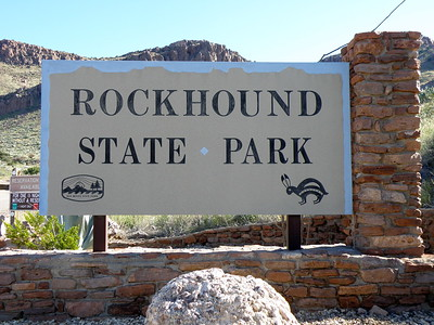 Main Sign for Rockhound