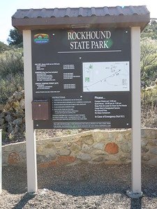 Rockhound fee Sign