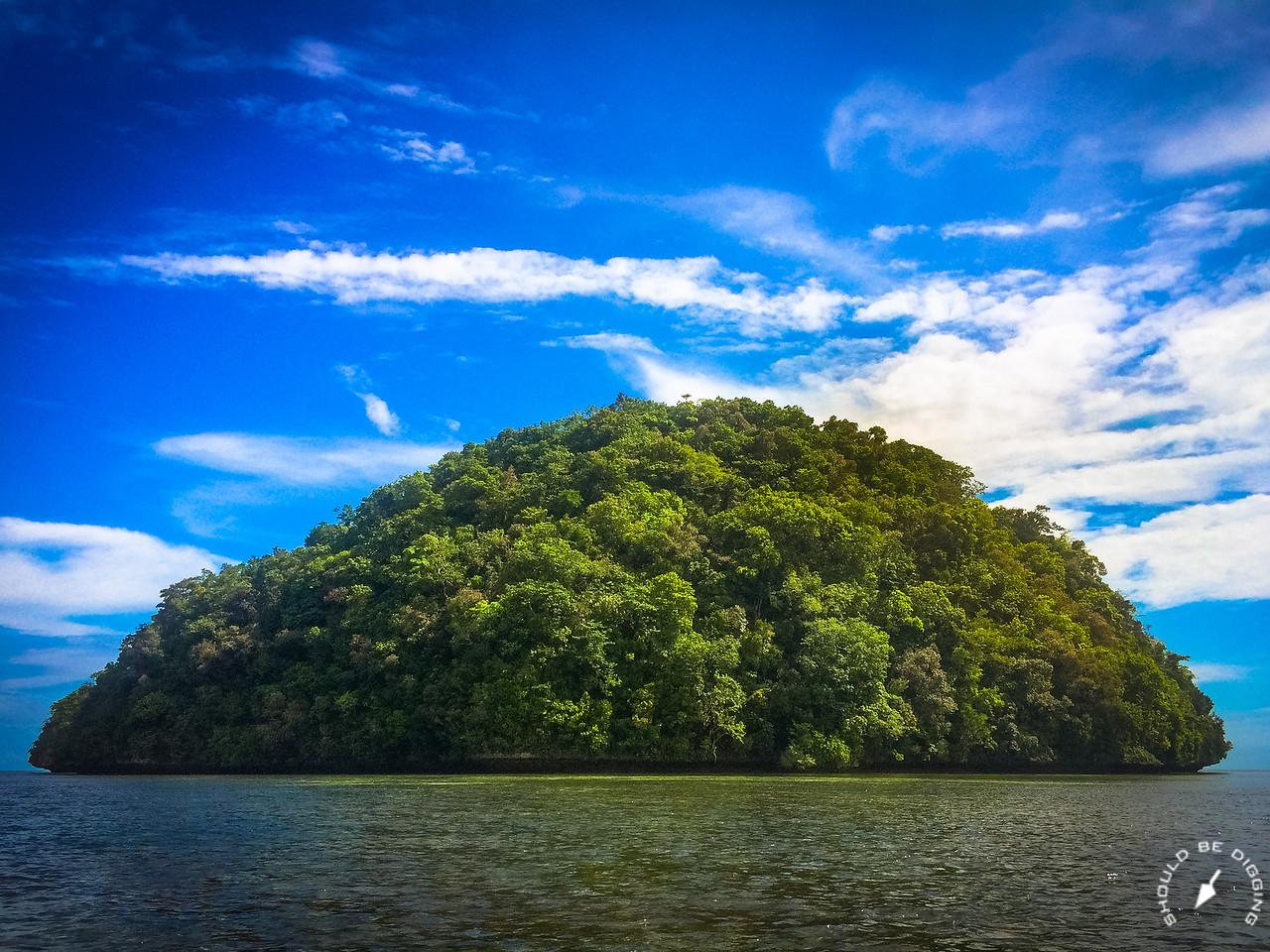 One of the many Rock Islands, Palau