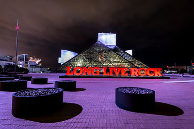 """Long Live Rock"", at the Rock & Roll Hall of Fame in Cleveland, Ohio"