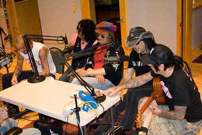 Tracii, Tamie, Chip, Marq, Lenny & Chad