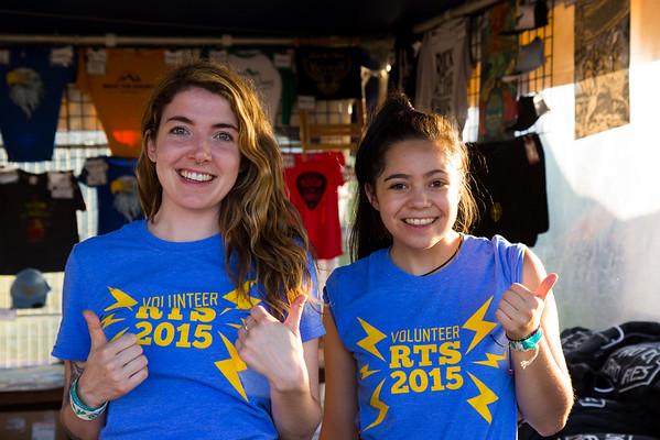 Volunteers - Saturday