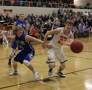 Rock Valley at West Lyon girls' and boys' bball 1-10-17