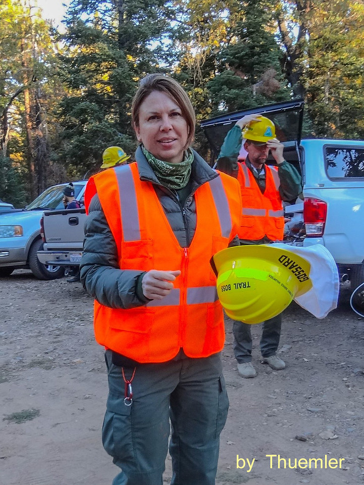 One of our SGWA trail bosses ready to rip rock.