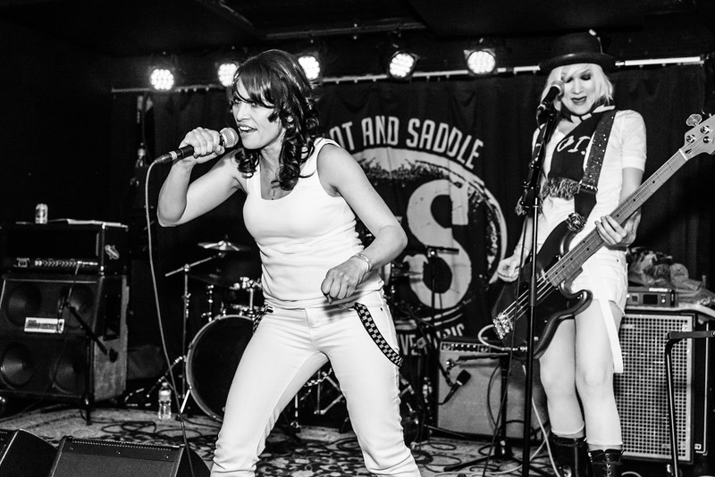 The Dickies/The Droogettes/Le Yikes Surf Club/Ruffed Up - Boot + Saddle - December 18, 2014