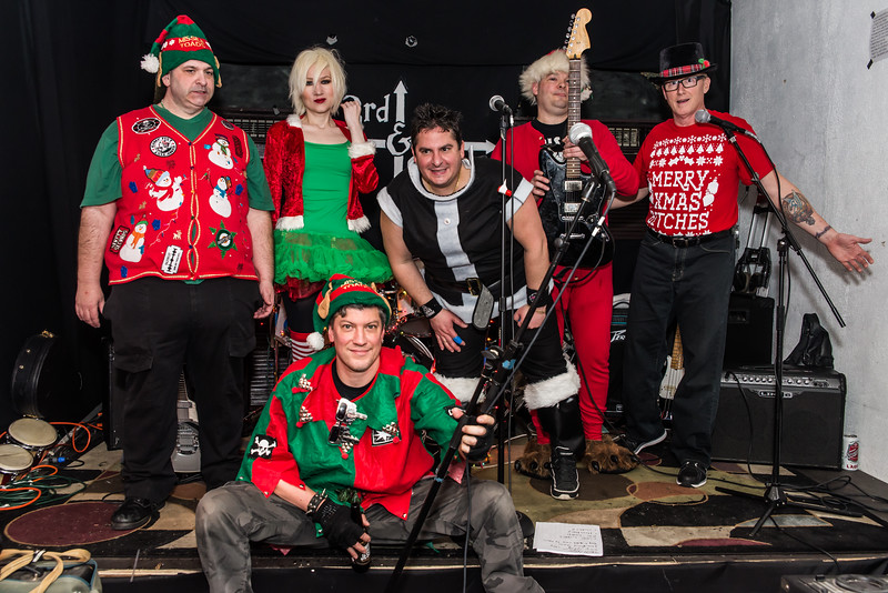 Punk Xmas Party w/The Stuffers/Missile Toads/The Sheckies/ - 3rd & Girard - December 19, 2014