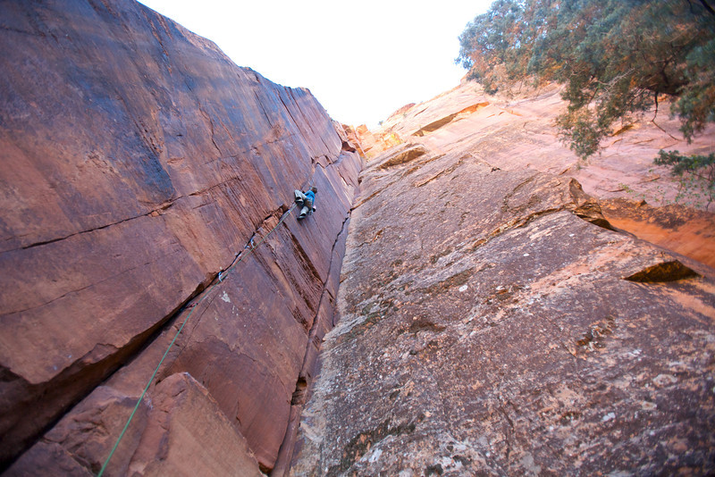 "in our opinion one of the best single pitch routes we climbed. ""Raggaetone"" 5.12 at Cragmont"