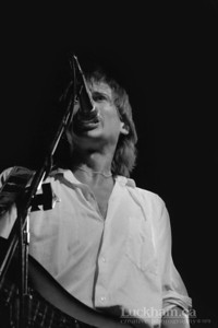Mick Broadbent of Bram Tchaikovsky  Student Union Building at UBC in Vancouver in 1979.