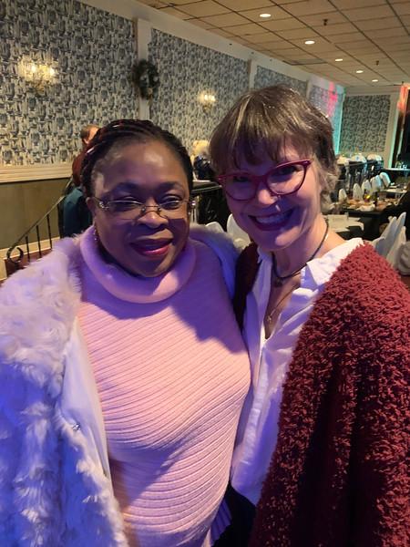 Levenia Furuse and former City Councilor Karen Cirillo, both of Lowell