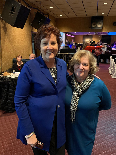 CTI CEO Karen Frederick of Dracut and Monica Kanellas of Lowell