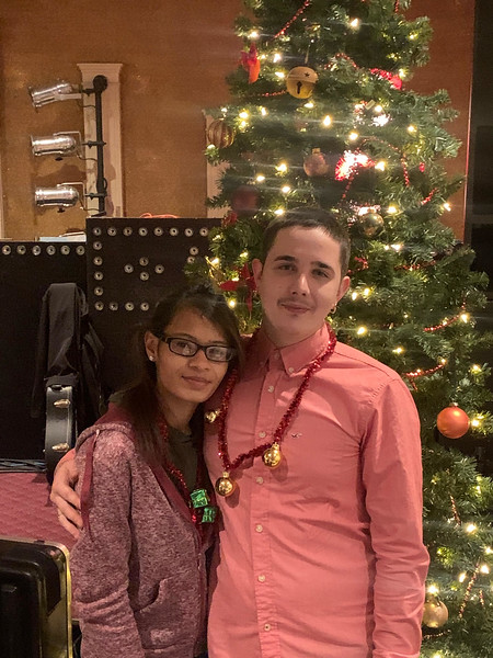 Jesalina Sabater and Sean Collins, both of Lowell