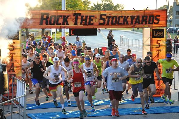 Rock the Stockyards 5k 2017