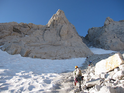 bear creek spire, north arete