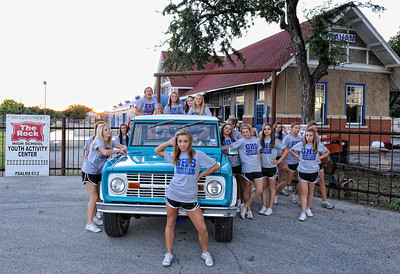 Thanks to the GHS Cheerleaders and Stampede Staff for their help in soliciting donations.  Special shout out to Emilee, Chelsea, Devin, Allie, Allie, Haydyn, Alex, Hannah and Kendal!