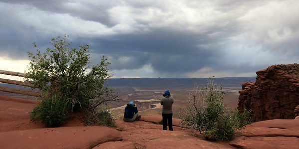 Canyonlands storm watch