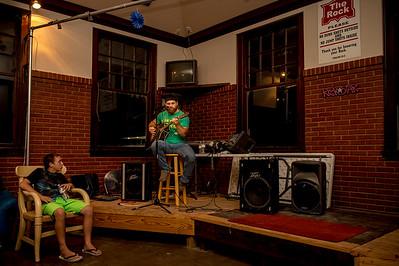 Slip-N-Slide Kickball and Ross Shifflett at The Rock