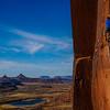 Matt Hegeman on Scareface. Indian Creek, Utah.