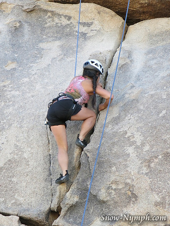 2013 (Mar 14-15) Joshua Tree Rock Climbing