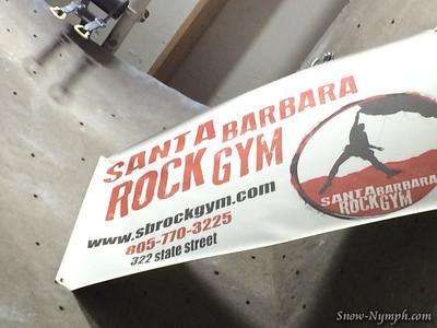 2014 (Apr 18) Santa Barbara Rock Gym (x2)