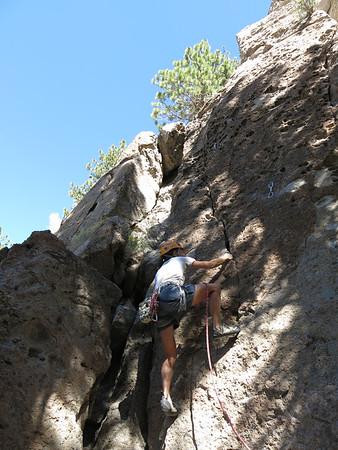 2014 (Sept 5) Climbing Clark Canyon Area 13