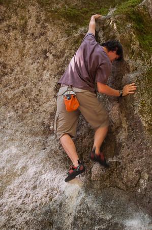 Climbing at Squamish B.C.