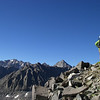 Left - Mt Sill. The pyramid on the right is Mt Agassiz, the last big peak Carol and i were on