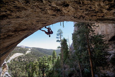 America's Most Wanted route at the Robbers Roost, Mt. Charleston.