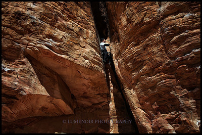 Sunny and Steep Wall Climbing at Galico Basin, Red Rock