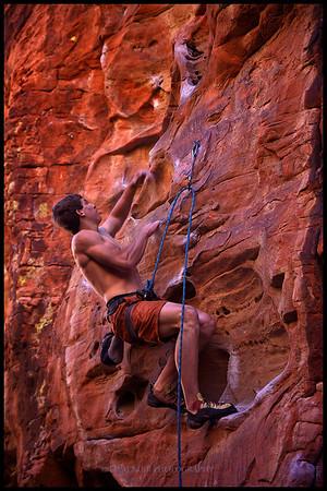 Climbing The Pier Routes at Red Rock