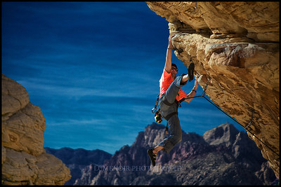 Trophy Wall climbing at Red Rock