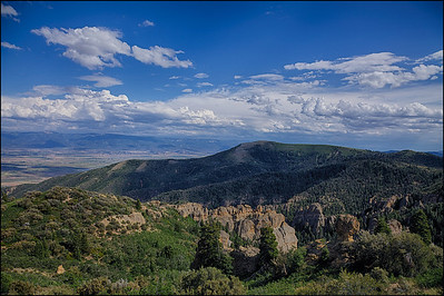 Maple Canyon. Unita National Forest, Utah.