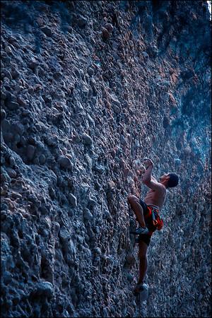 Maple Canyon. Unita National Forest, Utah.