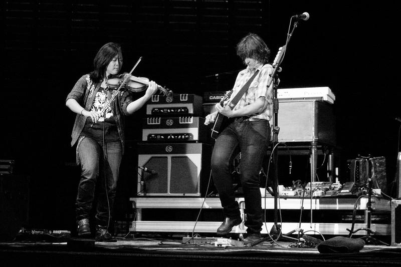 Lyris Hung and Amy Ray Indigo Girls Live at Rivers Edge