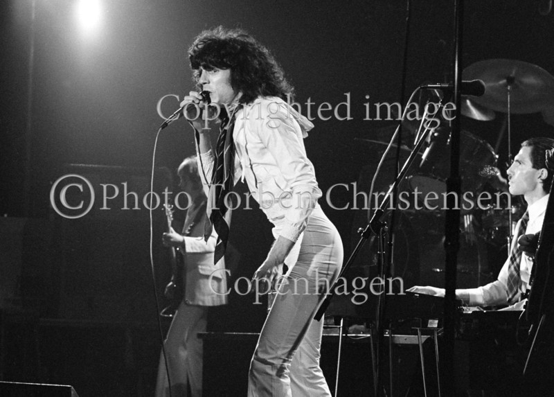 The Sparks i Tivolis Koncertsal december 1974.  Photo © Torben  Christensen @ Copenhagen