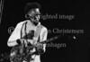 Den amerikanske bassist Stanley Clarke på scenen i Falkonerteatret 1977