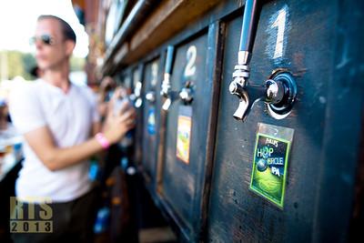 Hop Circle IPA beer tap at Phillips Brewing truck Dan Shugar photo (c) 2013 www.danshugar.com