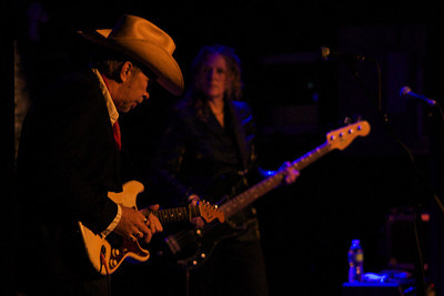 Dave Alvin with Sarah Brown.