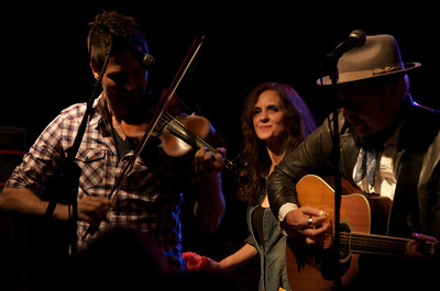 John Teer, Christy McWilson, and Dave Alvin Yep Roc 15th Anniversary show
