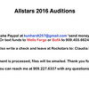Allstar Auditions pricing 2016 how to order