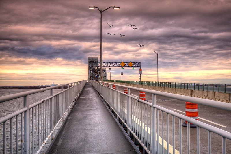 Storm Clouds, Marine Parkway Bridge