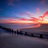 Sunset In Fort Tilden