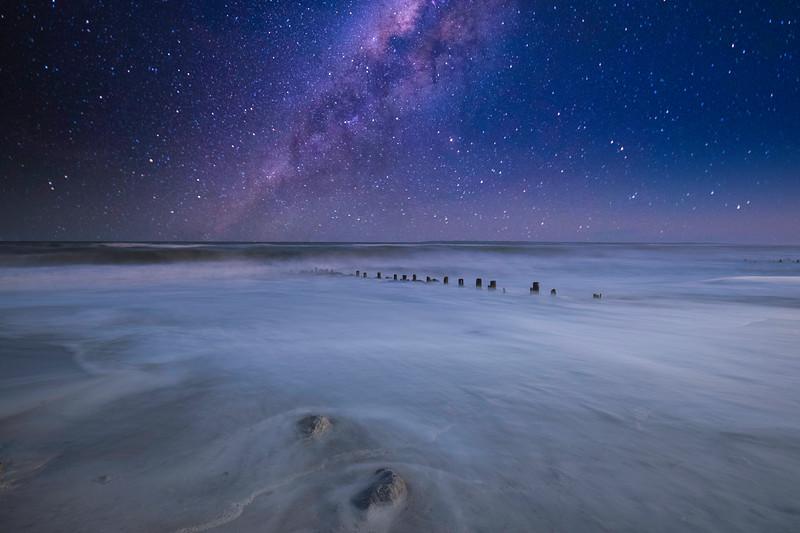 Milky Way Over The Atlantic Long Exposure