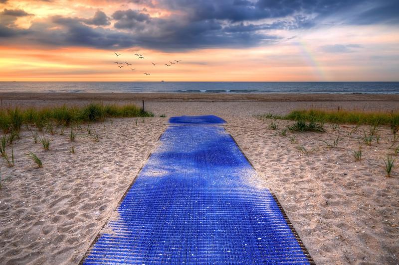 The Blue Walkway
