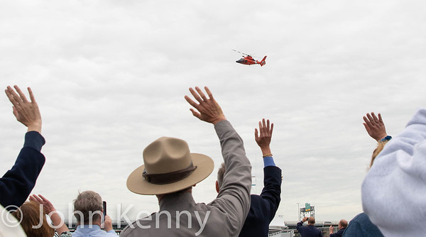 Coast Guard Flyover