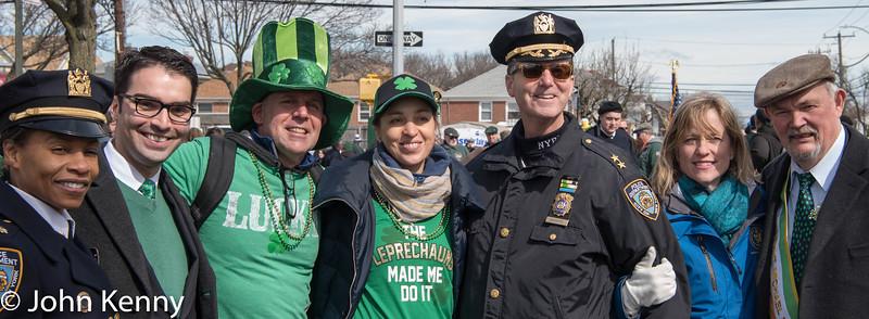 Rockaway St. Patrick's Parade 3-3-18